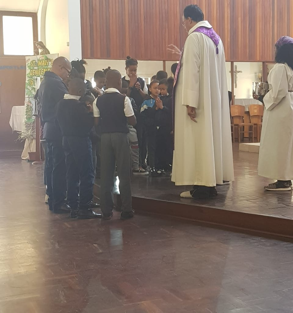 Mass with Father Ashley